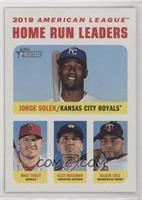 League Leaders - Jorge Soler, Alex Bregman, Nelson Cruz, Mike Trout #/50