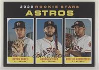 Rookie Stars - Rogelio Armenteros, Abraham Toro, Bryan Abreu