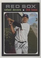 Silver Team Name Variation - Rafael Devers