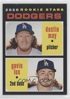 Rookie Stars - Gavin Lux, Dustin May (Base)