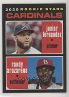Rookie Stars - Junior Fernandez, Randy Arozarena