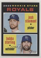 Rookie Stars - Josh Staumont, Bubba Starling