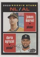 Rookie Stars - Dario Agrazal, James Marvel