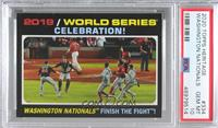 World Series Highlights - Nationals Celebrate! [PSA 10 GEM MT]