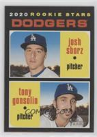 Rookie Stars - Josh Sborz, Tony Gonsolin