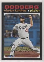 Action Variation - Clayton Kershaw