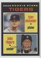 Rookie Stars - Tyler Alexander, Jake Rogers