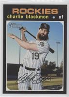 Short Print - Charlie Blackmon