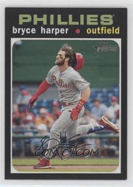 2020 Topps Heritage - [Base] #447.2 - Action Variation - Bryce Harper