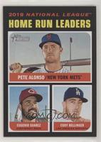 League Leaders - Eugenio Suarez, Cody Bellinger, Pete Alonso