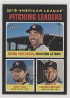 League Leaders - Eduardo Rodriguez, Justin Verlander, Gerrit Cole