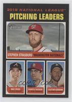 League Leaders - Clayton Kershaw, Dakota Hudson, Max Fried, Stephen Strasburg
