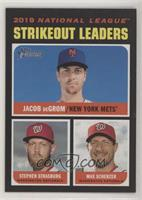 League Leaders - Max Scherzer, Jacob deGrom, Stephen Strasburg