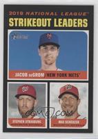 League Leaders - Max Scherzer, Jacob deGrom, Stephen Strasburg