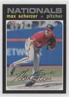 Silver Team Name Variation - Max Scherzer