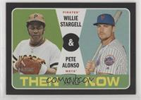 Pete Alonso, Willie Stargell