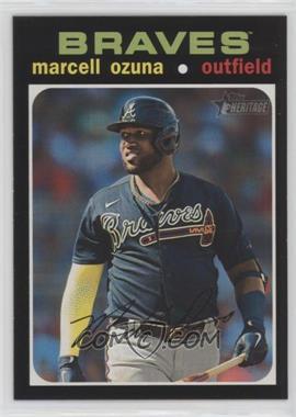 2020 Topps Heritage High Number - [Base] #723.1 - SP - Marcell Ozuna