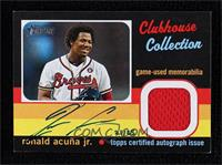 Ronald Acuna Jr. [Noted] #/25