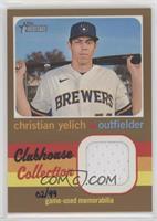 Christian Yelich #/99