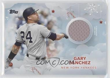 2020 Topps Holiday - WalMart Mega Box Relics #WHR-GA - Gary Sanchez