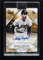 Sandy Koufax [Uncirculated] #/5