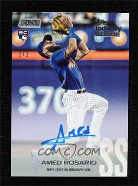 2020 Topps Industry Conference - Stadium Club Autographs #SCA-ARO - Amed Rosario /2