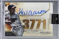 Hank Aaron [Uncirculated] #/15