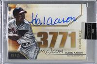 Hank Aaron [Uncirculated] #/15