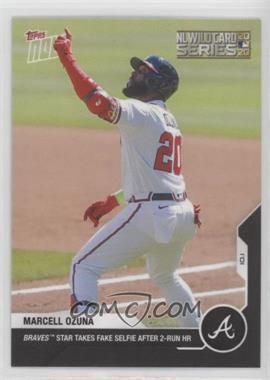 2020 Topps Now - [Base] #347 - NL Wildcard Series - Marcell Ozuna /345