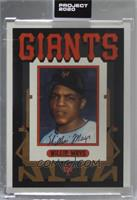 Willie Mays (Grotesk) [Uncirculated] #/1,753