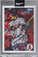 Mike Trout (Andrew Thiele) [Uncirculated] #/13,200