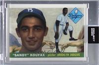 Sandy Koufax (Don C) [Uncirculated] #/2,018