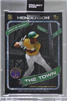 Rickey Henderson (Ben Baller) [Uncirculated] #/15,741