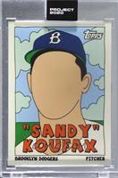 Sandy Koufax (Fucci) [Uncirculated] #/6,607