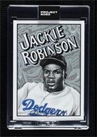 Jackie Robinson (Mister Cartoon) [Uncirculated] #/11,643