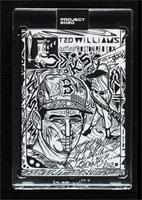 Ted Williams (JK5) [Uncirculated] #/1,385