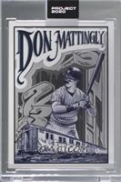 Don Mattingly (Mister Cartoon) [Uncirculated] #/27,299