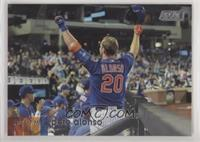 Base - Pete Alonso (Blue Jersey, Curtain Call)