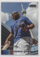 Base - Vladimir Guerrero Jr. (Vertical, CN Tower in Background)