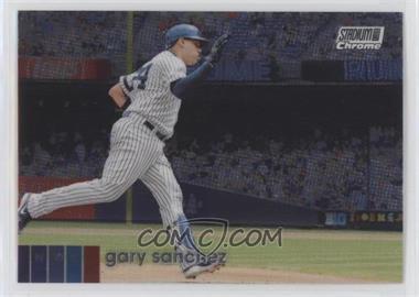2020 Topps Stadium Club Chrome - [Base] #215 - Gary Sanchez