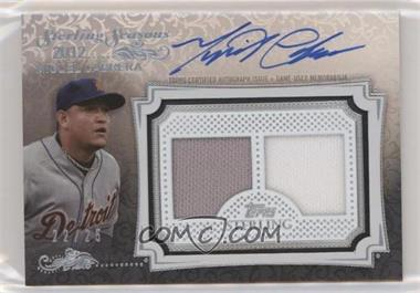 2020 Topps Sterling - Sterling Seasons Autograph Relics #SSAR-MC - Miguel Cabrera /25
