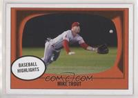 1961-62 Hockey Highlights/Baseball Highlights Design - Mike Trout #/515