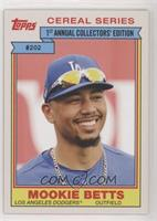 1984 Topps Cereal Series Design - Mookie Betts #/2,073