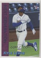 Next Generation on 1998 Topps WCW World Champ Design - Kyle Lewis #/1,789
