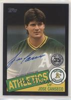 Jose Canseco #124/199