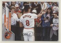 SSP Photo Variation - Cal Ripken Jr. (Back of Jersey, Horizontal)