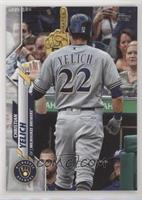 SSP Photo Variation - Christian Yelich (Back of Jersey)