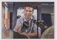 SP Photo Variation - Jacob deGrom (All-Star Press Conference)