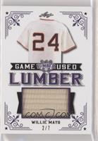 Willie Mays #/7