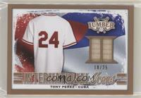 Tony Perez #/25
